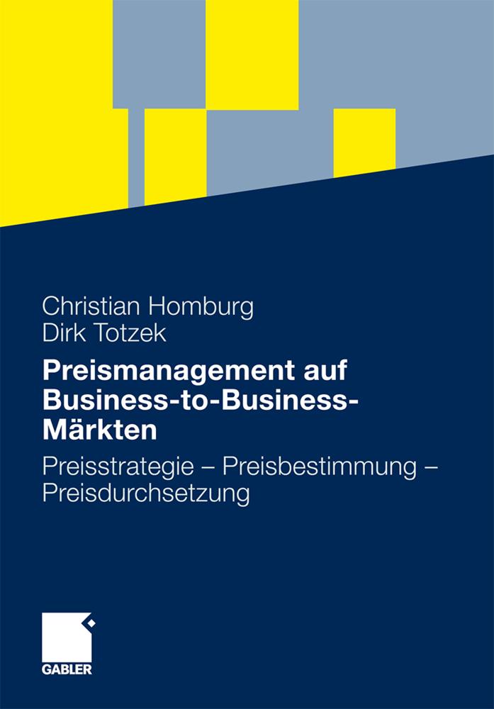 Preismanagement auf Business-to-Business-Märkte...