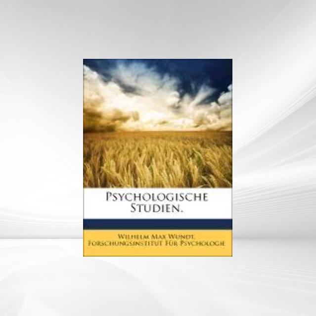 Psychologische Studien. als Taschenbuch von Wil...