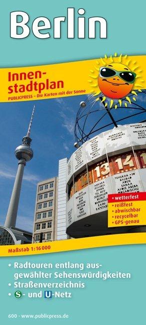 Berlin Innenstadtplan 1 : 16 000 als Buch von