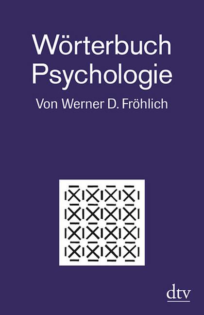 Wörterbuch Psychologie als Taschenbuch von Wern...