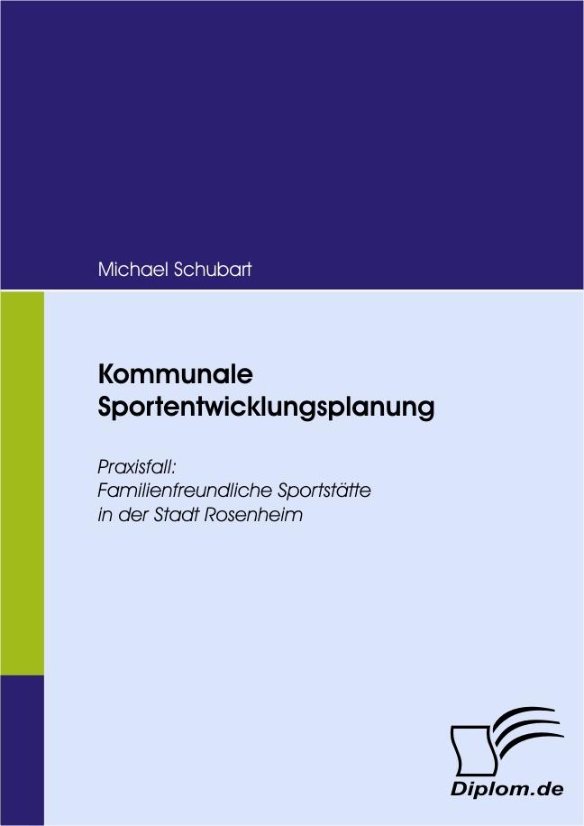 Kommunale Sportentwicklungsplanung als eBook Do...