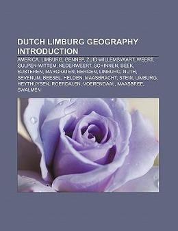 Dutch Limburg geography Introduction als Tasche...