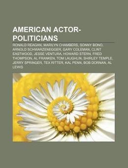 American actor-politicians als Taschenbuch von