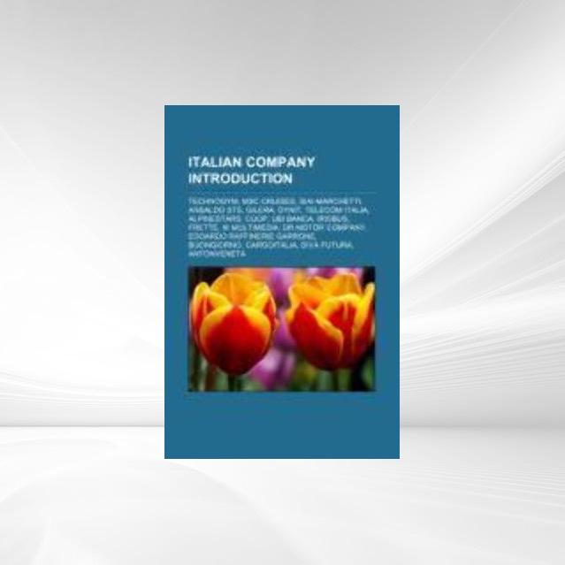 Italian company Introduction als Taschenbuch von