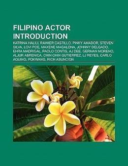 Filipino actor Introduction als Taschenbuch von