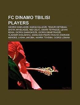 FC Dinamo Tbilisi players als Taschenbuch von