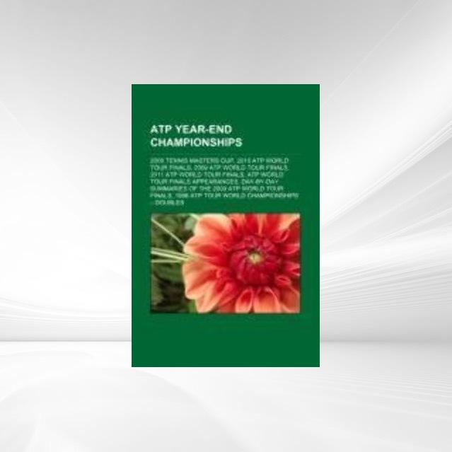 ATP Year-End Championships als Taschenbuch von