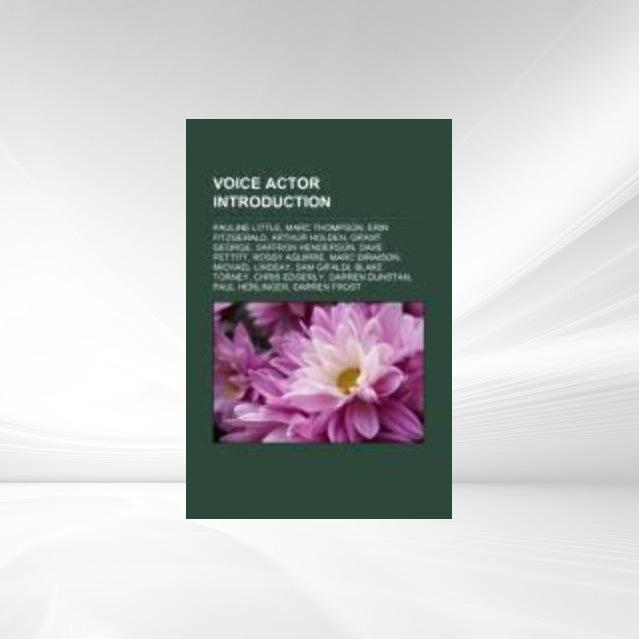 Voice actor Introduction als Taschenbuch von