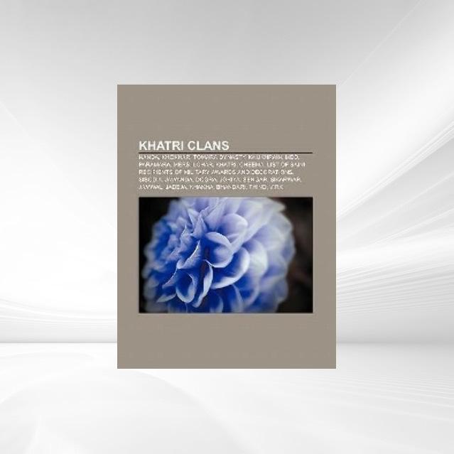 Khatri clans als Taschenbuch von