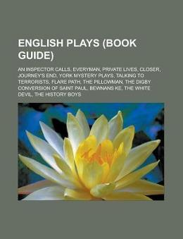 English plays (Book Guide) als Taschenbuch von