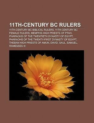 11th-century BC rulers als Taschenbuch von