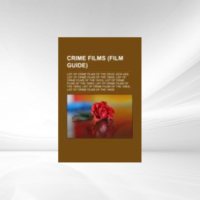 Crime films (Film Guide) als Taschenbuch von