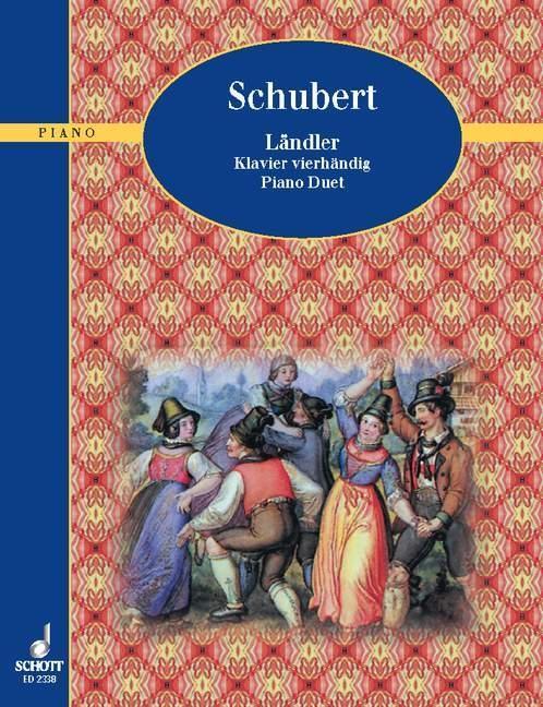 Ländler als Buch von Franz Schubert
