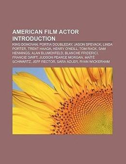 American film actor Introduction als Taschenbuc...