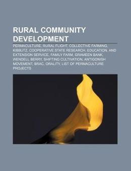 Rural community development als Taschenbuch von
