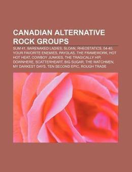 Canadian alternative rock groups als Taschenbuc...