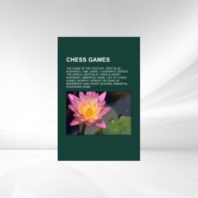 Chess games als Taschenbuch von