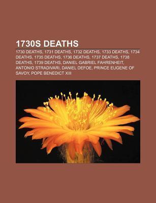 1730s deaths als Taschenbuch von - 1156356296