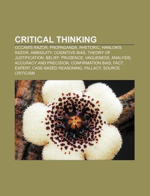 Critical thinking als Taschenbuch von - 1156709342