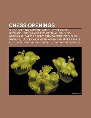 Chess openings als Taschenbuch von