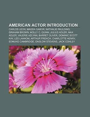 American actor Introduction als Taschenbuch von