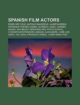 Spanish film actors als Taschenbuch von