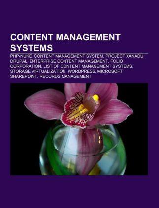 Content management systems als Taschenbuch von