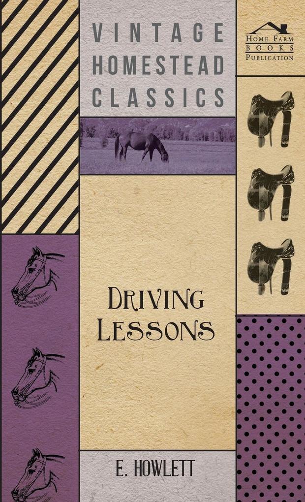 Driving Lessons als Buch von E. Howlett