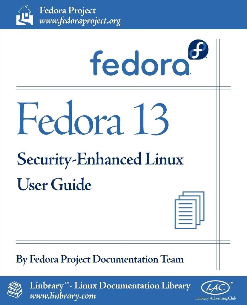 Fedora 13 Security-Enhanced Linux User Guide al...
