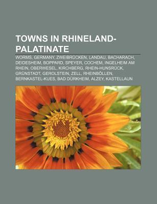 Towns in Rhineland-Palatinate als Taschenbuch von
