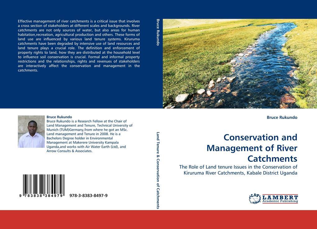 Conservation and Management of River Catchments als Buch von Bruce Rukundo - Bruce Rukundo