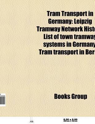 Tram transport in Germany als Taschenbuch von