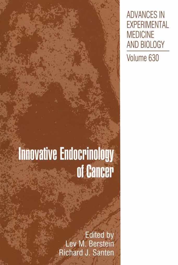 Innovative Endocrinology of Cancer als eBook Do...