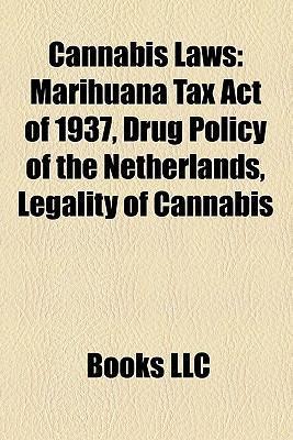 Cannabis laws als Taschenbuch von