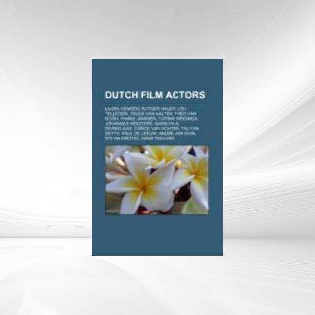 Dutch film actors als Taschenbuch von