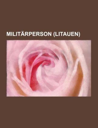 Militärperson (Litauen) als Taschenbuch von