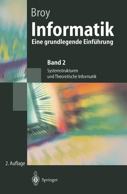 Informatik als Buch von Manfred Broy