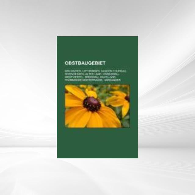 Obstbaugebiet als Taschenbuch von