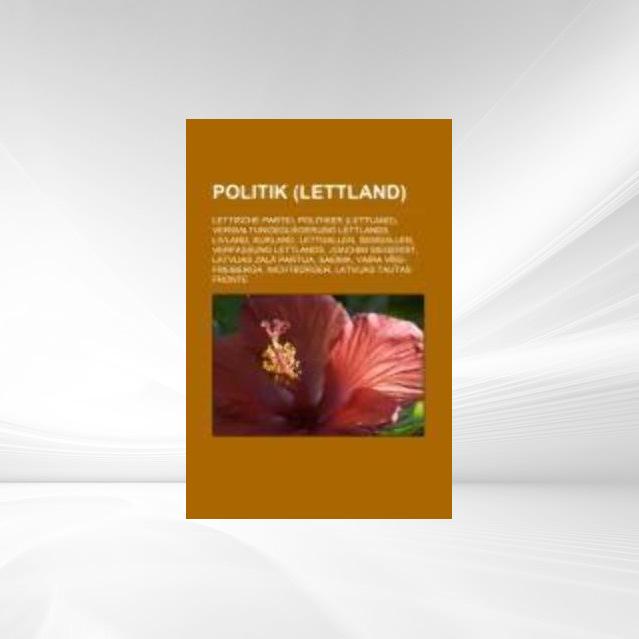 Politik (Lettland) als Taschenbuch von