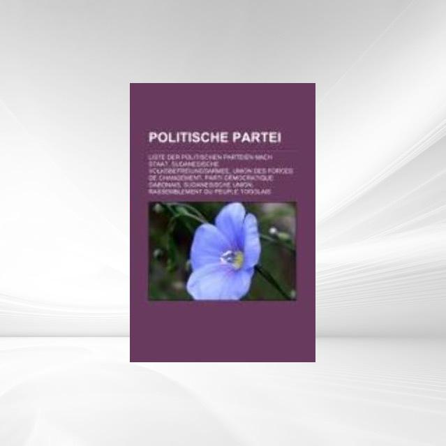 Politische Partei als Taschenbuch von