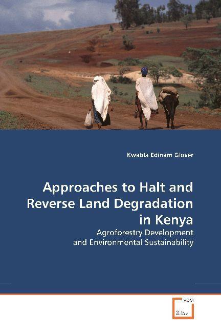 Approaches to Halt and Reverse Land Degradation in Kenya als Buch von Kwabla Edinam Glover - Kwabla Edinam Glover
