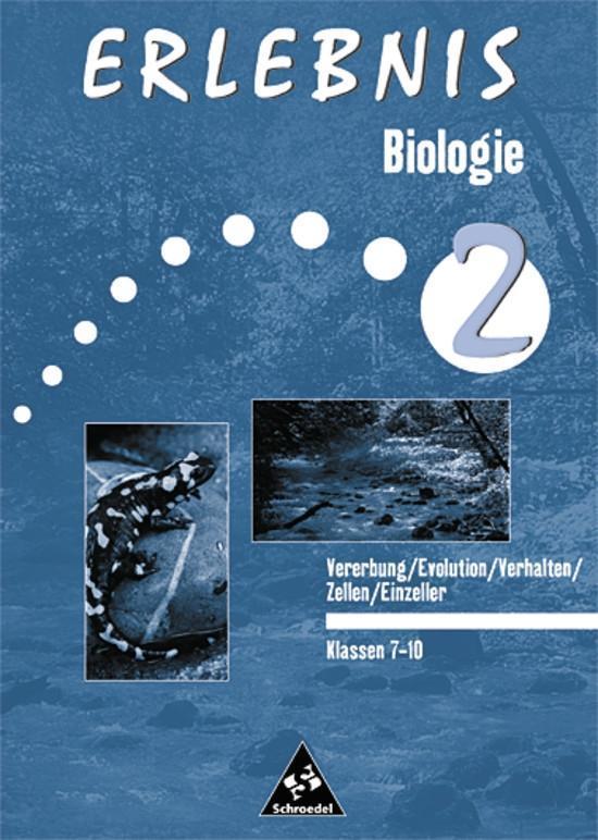 Erlebnis Biologie 2. Arbeitsheft. Einzeller als...