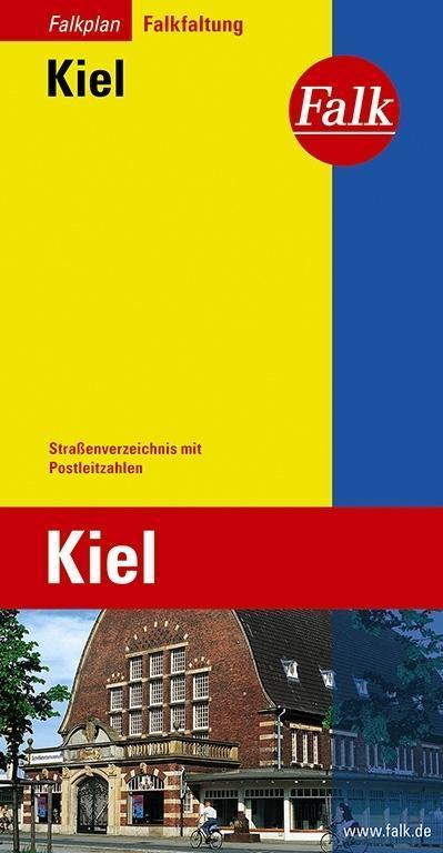 Falk Stadtplan Falkfaltung Kiel 1 : 20 000 als ...
