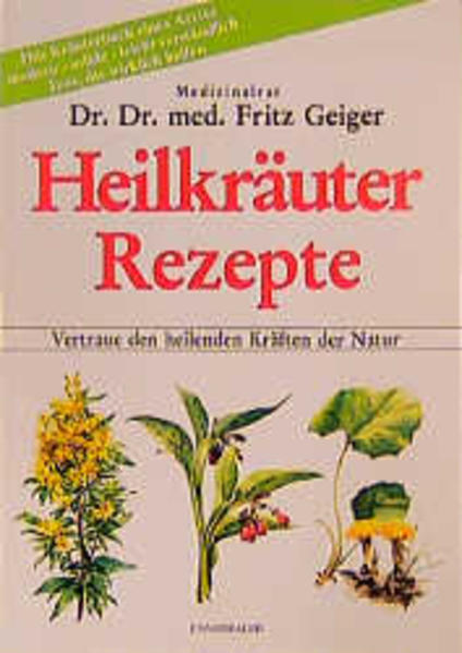 Heilkräuter Rezepte als Buch von Fritz Geiger