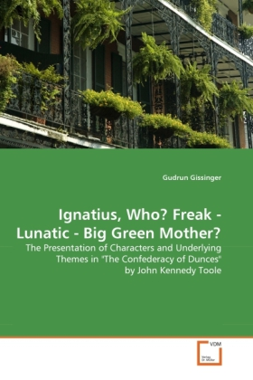 Ignatius, Who? Freak - Lunatic - Big Green Moth...