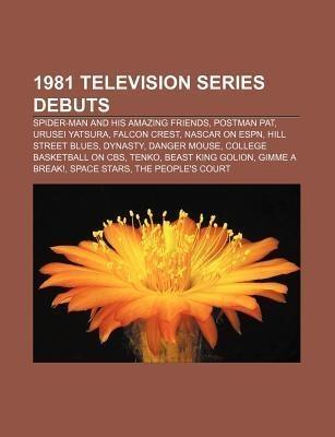 1981 television series debuts als Taschenbuch von