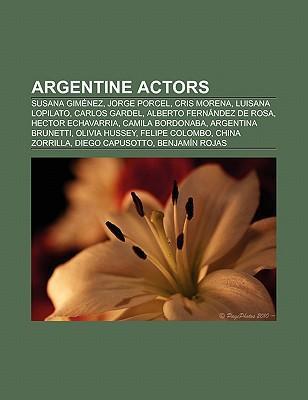 Argentine actors als Taschenbuch von