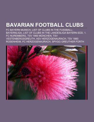 Bavarian football clubs als Taschenbuch von
