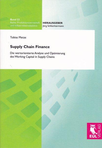 Supply Chain Finance als Buch von Tobias Metze