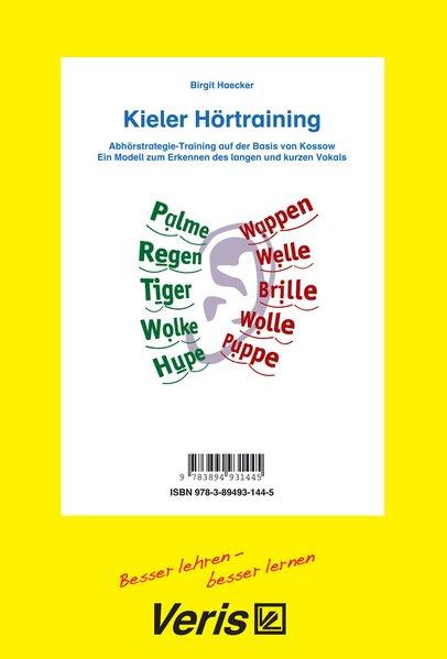 Kieler Hörtraining als Buch von Birgit Haecker